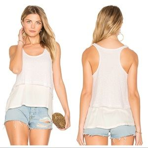 feel the piece / lois terre jacobs knit tank top
